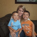 Amy and her boys