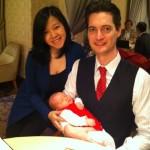 Daniella and her beaming parents